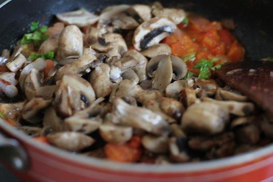 Mushroom Grilled Cheese Sandwich Recipe