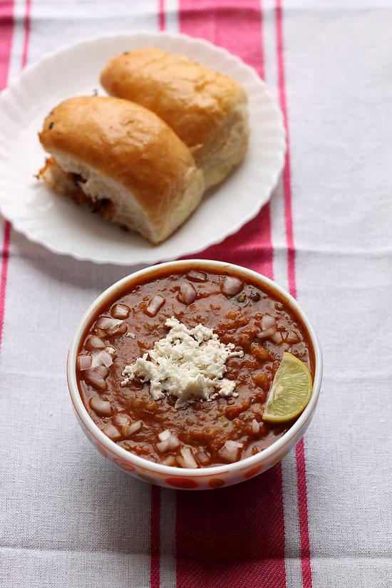 Paneer Pav Bhaji Recipe, How to make Paneer Pav Bhaji Recipe