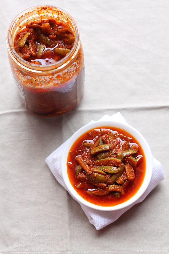 Tendli Pickle Recipe, Goan Tendli Pickle Recipe | Tindora Masala Pickle Recipe