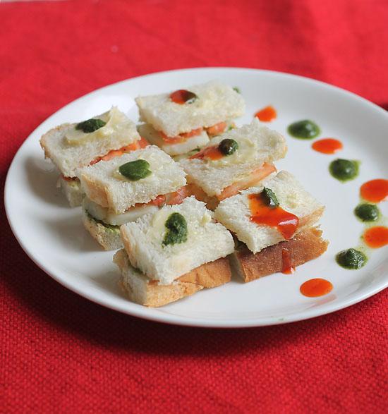 Mumbai Veg Sandwich Recipe, Vegetable Sandwich Recipe