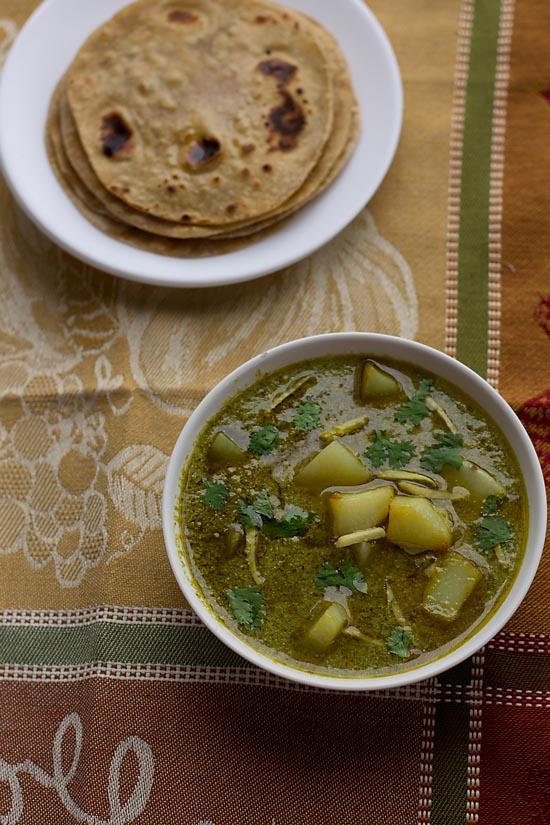 Aloo Palak Recipe