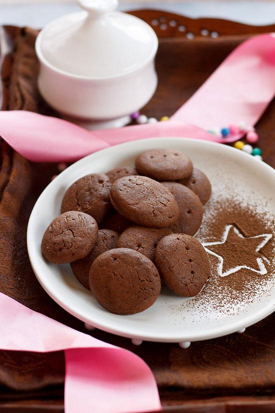 Eggless Chocolate Cookies Recipe, How to make Eggless Chocolate Cookies Recipe