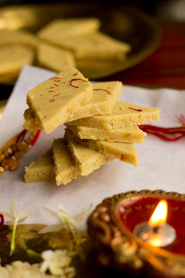 Kaju Katli (Diwali Sweets)