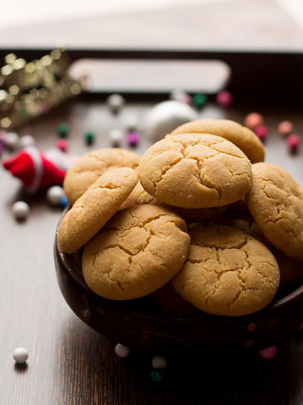 Eggless Ghee Cookies (Step by Step)