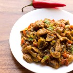 Mushroom Tawa Masala (Quick and Simple)