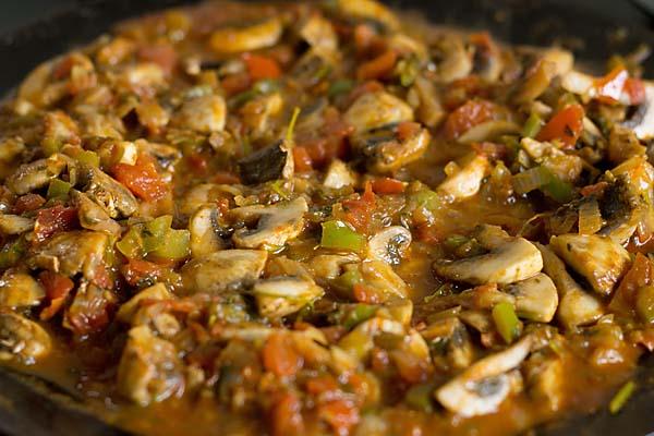 Mushroom Tawa Masala Recipe