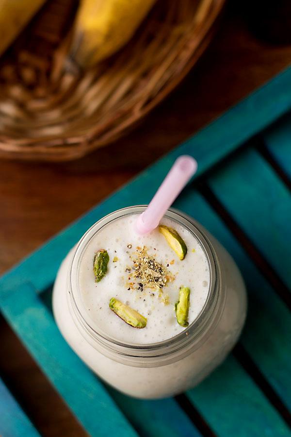 Banana Milkshake (Sugarfree & Vegan)