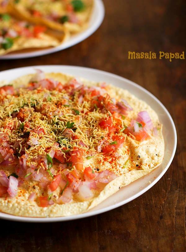 How to Make Masala Papad (Step by Step)